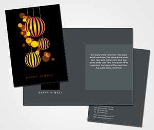 Greeting Card printing Diwali Festivals