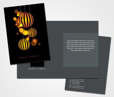 Online Greeting Card printing Diwali Festivals