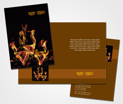 Online Greeting Card printing Happy Diwali Wishes