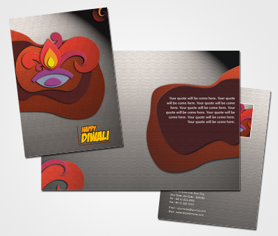Online Greeting Card printing Happy Diwali Greeting