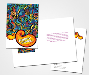 Greeting Card printing Diwali Decorations Ideas