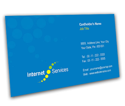 Online Business Card printing Cable Internet Service