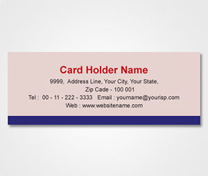 Address Labels printing Pink Sticker