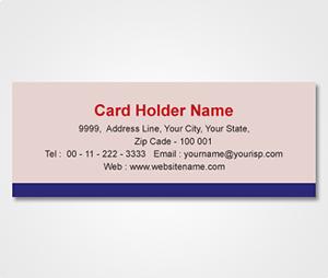 Address Labels printing Pink Sticker