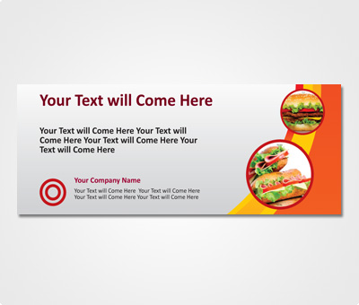 Online Exhibition Banners printing Restaurants