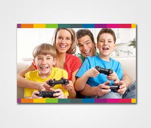 Canvas Prints printing Family Photos