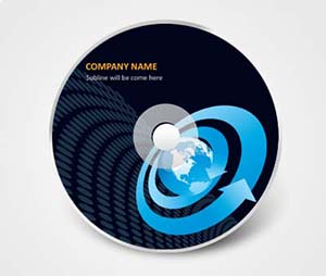 CD / DVD Stickers printing It Services Providers