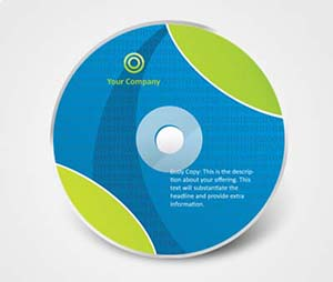 CD / DVD Stickers printing Human Resources Services
