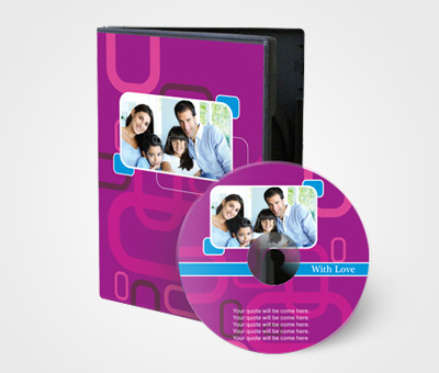 Online CD / DVD Covers printing Family Photo Album
