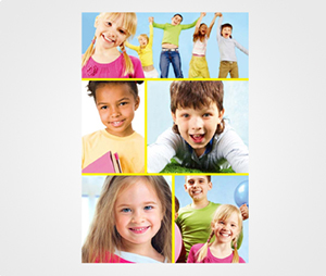 Collage Posters printing Children Pictures