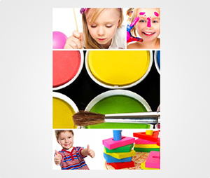 Collage Posters printing Kids Photos