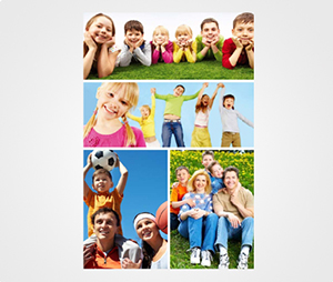 Collage Posters printing Children Print Pictures