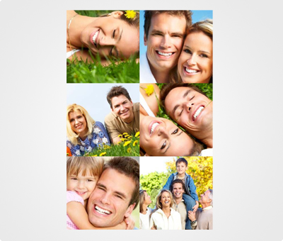 Online Collage Posters printing Family Art Pictures