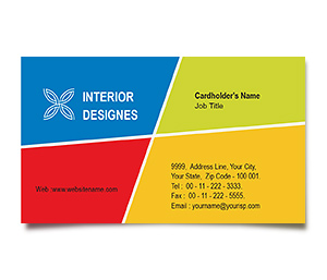 Business Card printing Interior Architecture