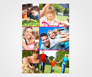 Collage Posters printing Family Photos