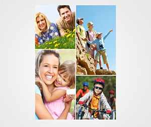 Collage Posters printing Family Pictures