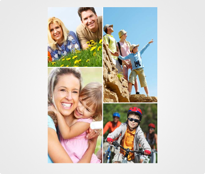 Online Collage Posters printing Family Pictures