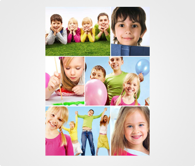 Online Collage Posters printing Kids Pictures