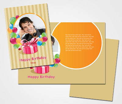 Online Greeting Card printing Friends Birthday