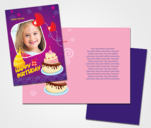Greeting Card printing Birthday Wishes For Daughter