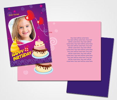 Online Greeting Card printing Birthday Wishes For Daughter