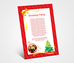 Invitations printing Christmas Party