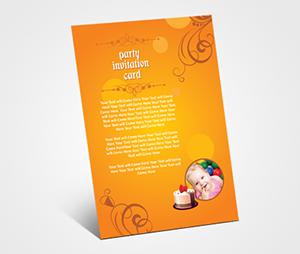 Invitations printing Children Birthday