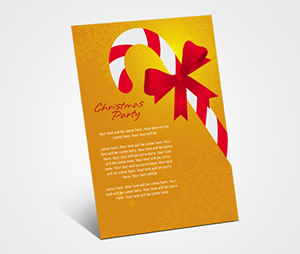 Invitations printing Christmas Holiday Party