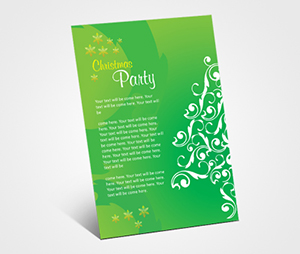 Invitations printing Christmas Celebration