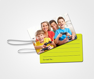 Luggage Tags printing Family Pictures