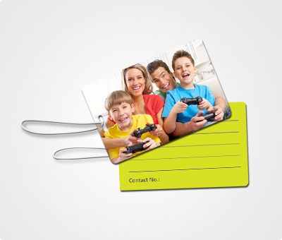 Online Luggage Tags printing Family Pictures