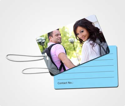 Online Luggage Tags printing My Family