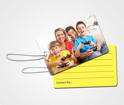 Online Luggage Tags printing Family Photo