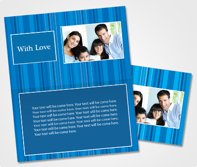 Online Note Cards printing Special Occasion Announcement