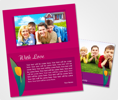 Online Note Cards printing Kids Party