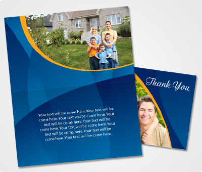 Online Note Cards printing Special Family Event