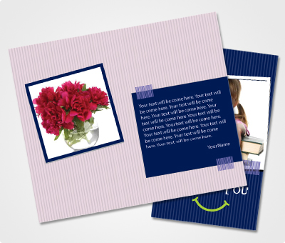 Online Note Cards printing To Say Thanks