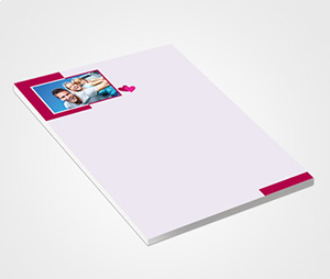 Notepads printing With Family Photo