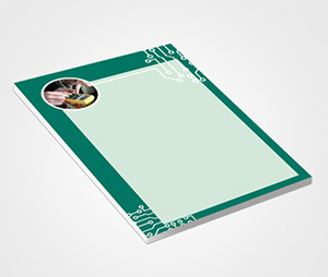 Notepads printing Motherboard Design