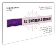 Online Business Card printing Automobile Engines