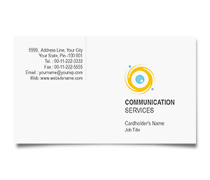 Business Card printing Communication Solution