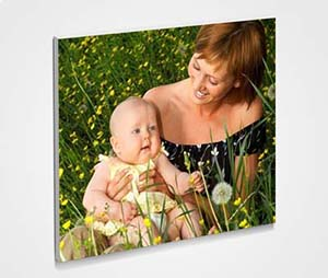 Framed 6x6 Mini Canvas printing Mother And Baby
