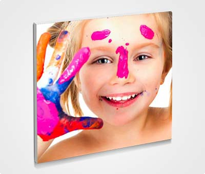 Online Framed 6x6 Mini Canvas printing Kid Image