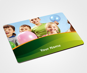 Mouse Pads printing Playing Children