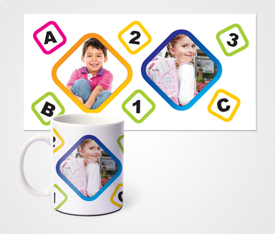 Online Mugs printing Kids Photo