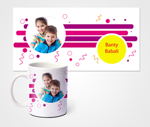 Mugs printing Children Photo
