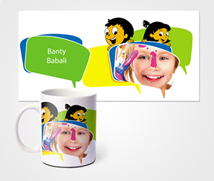 Mugs printing Cartoon And Kids