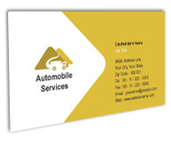 Online Business Card printing Automobile Truck