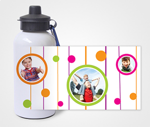 Water Bottles printing Children Images