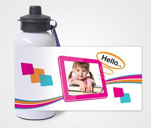 Water Bottles printing Kids Photo